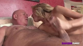 Banging Family – Dirty Step-Dad Catches Daughter Nude Modeling and Punishes Her