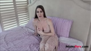Brunette MILF MOM teaches her s. to treat a girl- Brianna Rose