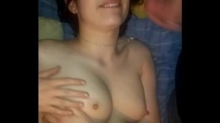 Facefucking My Hot Ass High School Emo Teen Ex In Her Parents Room With The Door Unlocked While They Were Cooking Dinner In The Next Room Over (CUMSHOT) — Nice Big Natural Teenie Tits ;) [REAL] * Gorgeous *