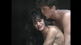 horny guy fucks brunette milf Brigitte Aime in her hairy pussy after getting blown xxx
