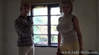 Lady Sonia and Red having hot sex
