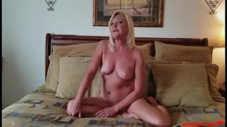 Shy MOM Takes a Big Facial From Son